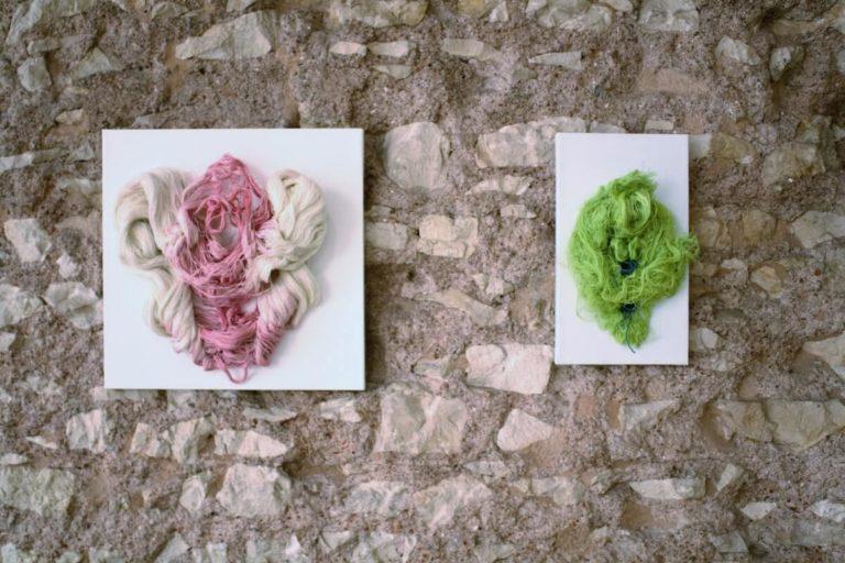 personale-Polese-galleria-Berga-textile - tissue